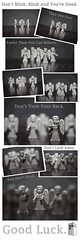 Don't Blink. (Paul J's) Tags: poster toy toys 50mm who dont doctor angels doctorwho blink f14l