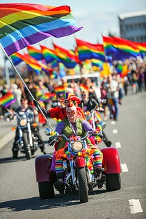 Pride Parade in Reykjavik