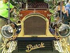 Buick brasswork (DannyAbe) Tags: buick antiquecar rochester brass carshow