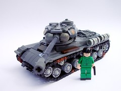 -2(IS-2) heavy tank(1) ([Maks]) Tags: world 2 war tank lego military great patriotic ii soviet josef second vehicle heavy stalin tracked moc iosif is2