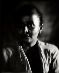 Darkness prevails (Giovanni Savino Photography) Tags: portrait dark papernegative study portraiture darkside studioportrait 4x5camera strobist magneticart giovannisavino burkeandjamesrembrandtportraitcamera