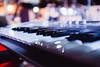 DSCF0933.jpg (Josemari Gago) Tags: musician music blur lights keyboard fuji teclado bokeh stage escenario korg nighr xseries 23mm fujixseries fujix100s x100s