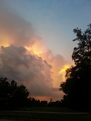 Summer Sunset (Calsidyrose) Tags: sky clouds photoshop texas cloudporn android skyporn
