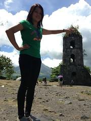 Cagsawa ruins adventure (lhyng08) Tags: daraga uploaded:by=flickrmobile flickriosapp:filter=nofilter