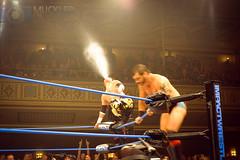 Tajiri and Austin Aries (SuplexPhotos) Tags: nyc championship wrestling champion ring match wrestler ropes title athlete superstar cena wrestle wwe superstars wrestlemania tna manhattancenter impactwrestling
