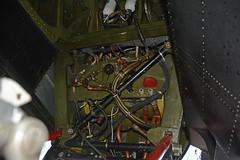 Inside the wheel (quintinsmith_ip) Tags: canada airport durham aircraft canadian lancaster bomber tees vra victoriacross canadianwarplaneheritagemuseum durhamteesvalley lancastermkx kb726 andrewmynarski mynarskimemoriallancaster rcafno419moosesquadron fodtva poandrewmynarski
