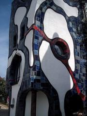 Abensberg (Bavaria) Hundertwasser museum - Details (Sokleine) Tags: art museum architecture germany bayern deutschland bavaria contemporary kunst kunsthaus muse allemagne hundertwasser abensberg bavire peterpelikan