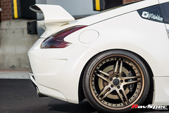 "WORK Gnosis GS2 (MHG) Nissan 370z • <a style=""font-size:0.8em;"" href=""http://www.flickr.com/photos/64399356@N08/14933339678/"" target=""_blank"">View on Flickr</a>"