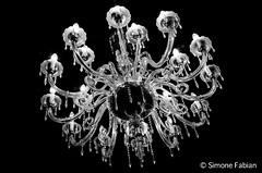 Chandelier LowKey (meepeachii) Tags: light bw licht chandelier sw lowkey candelabra kronleuchter