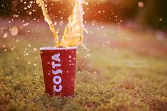 Coffee splash! (Ali:18 ( )) Tags: costa coffee canon 50mm splash costacoffee