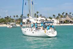 DSC_6034 (eric15) Tags: beach race cat surf sailing wind offshore competition surfing racing aruba international catamaran sail windsurfing regatta optimist sunfish 2014