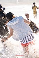 Haeundae Waves with Typhoon Halong_-54 (Kabayanmark Images) Tags: ocean sunset sea wet girl night waves south famous curls korea tourist falling busan surprise tidal typhoon crests haeundae beachgoers hayan