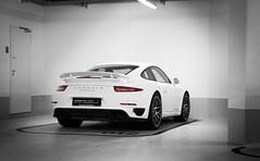 Porsche 991 Turbo S (Sebastian T Photography) Tags: new light white museum vw germany nikon stuttgart unique garage 911 fast exotic turbo porsche luxury carrera porker 991 turbos pccb pdk d600 carporn 2470f28 nikond600 sebastiantphotography