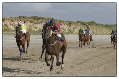 A close finish (Frank Fullard) Tags: ireland horse beach sport race close jockey finish mayo horserace doolough erris fullard geesala frankfullard