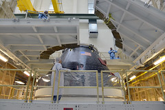 Orion crew module is complete!