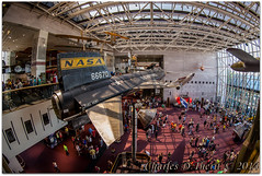 Boeing Milestones of Flight Hall / Smithsonian National Air and Space Museum (ctofcsco) Tags: summer vacation usa america canon eos dc washington districtofcolumbia unitedstates district capital north wideangle columbia fisheye explore american northamerica 5d 2014 x15 renown ultrawideangle eos5d nationscapital 5dclassic 5dmark1 5dmarki 815mm ef815mmf4lfisheyeusm ef815mm boeingmilestonesofflighthall