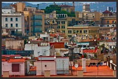 up on the roof (ibarenogaray) Tags: barcelona city roof barceloneta terraza barri