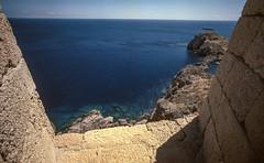 Akropolis View (el.seppo) Tags: summer sun beach greece fujifilm rhodes 15mm lindos rhodos superwideangle leicam3