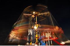 340 - The Old School Entertainer (Ata Foto Grup) Tags: longexposure light color night turkey dark fun kid colorful exposure mobil fair istanbul oldschool entertainer lunapark funfair çocuk gece eğlence ışık renk caddebostan karanlık renkli şehir enstantane uzunenstantane citş sekolin türkişe eğlendirici