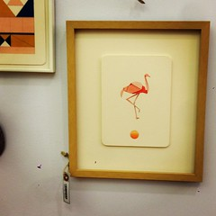Popped into @abode_roc. Always charming! (Love the flamingo, @st.monci.) #rochesterny