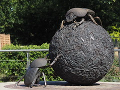 Dung Beetles (Megashorts) Tags: olympus omd em10 mzd 40150mm regentspark zoo london england uk dungbeetle dungbeetles sculpture art em10mk1 em10mki