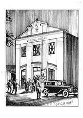 Viamâo Cinema Ideal Chico Marinho Briga no cinema 1930