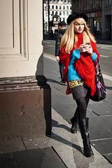 life road lighting street city blue light shadow red... (Photo: Leanne Boulton on Flickr)