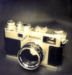 So elegant (O9k) Tags: analog polaroid sx70 nikon rangefinder instant analogue cameraporn impossiblefilm