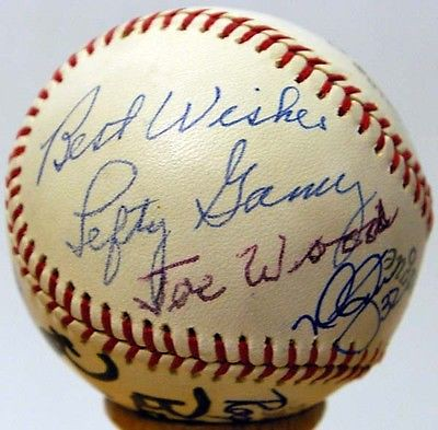 Smokey Joe Wood 20 Game Winner Ball