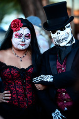 All Souls 6 (barbara carroll) Tags: diadelosmuertos allsoulsprocession dayofthedead calavera tucson sacred autumn