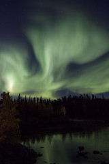 cloverleaf aurora (useless no more) Tags: aurora northernlights scottlough nwt nt northerncanada arctic subarctic