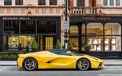 Giallo Triplo Strato (Alexbabington) Tags: ferrari laferrari hypercar cars car supercar supercars yellow italian london