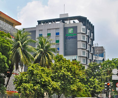 Holiday Inn Express KH Mas Mansyur (BxHxTxCx (more stuff, open the album)) Tags: jakarta building gedung architecture arsitektur hotel