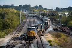 Crossing the Southern (Rudy - rufec12) Tags: csx csxt mainline chattanooga tennessee tn manifest trains train railfan railfanning nikon norfolk southern ns buff 4501