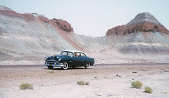 Mom cruising in a 1953 Pontiac Chieftain somewhere in Arizona on my parents road trip from Connecticut to California. Before the Federal Highway System, this was the only way to travel. You sure got to see the country up close!  Sept 1954 (wavz13) Tags: vintagepontiacs oldpontiacs 1950spontiacs vintagecars vintagecar oldcar oldcars 1950scars collectiblecars collectablecars kodachrome oldslides vintageslides familyslides vintagekodachrome oldkodachrome oldfamilyslides filmphotos filmphotography oldfamilyphotos vintagefamilyphotos oldfamilyphotography vintagefamilyphotography vintage35mm old35mm oldphotographs oldphotos 1950sphotographs 1950sphotos whitewalls deserts vintagephotography oldphotography 1950sphotography kodachromeslides 1950sslides 1950scar 1950skodachrome mountains