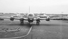 Chicago Midway Airport - Northwest Airlines - Boeing 377 (Stratocruiser) (twa1049g) Tags: chicago midway airport northwest airlines boeing 377 stratocruiser 1958 n74603