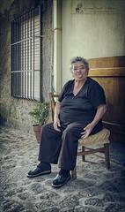 Adorable funny granny (Giuseppe Tripodi) Tags: elderly grandmother funny woman street photography granny persone