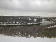 IMGP3784 (KMW2700) Tags: snow schnee edmonton alberta canada kanada rivervalleypark rivervalley flusstal walk spaziergang tree baum river flus wet nass