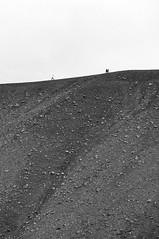 Iceland (Yann OG) Tags: iceland islande sland icelandic hverfjall mvatn nb bw noiretblanc blackandwhite monochrome miniature volcan volcano cratre crater minimalism