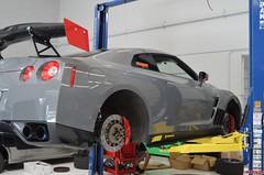 Customer's Nissan GTR with WP Pro Brakes Rotor and Pad Upgrade (vividracing) Tags: bbk bigbrakekit brakefluid brakepads brakes brembo calipers coolingkit gtr hawk modification nissan oem race rotors street track upgrade wholesale wppro