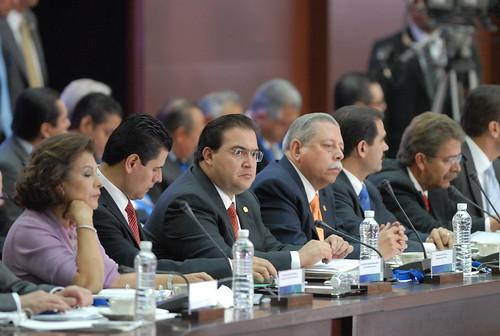 El gobernador Javier Duarte de Ochoa asistió a la XXX Sesión del Consejo Nacional de Seguridad Pública 5