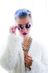 Cyber Punk (::: M @ X :::) Tags: isobelle naty madmax punk crazy loca tapado white highkey