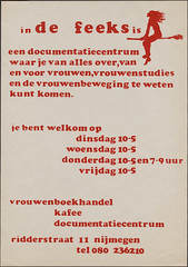 1980 De Feeks documentatiecentrum Ridderstraat