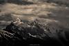 Mont Blanc dans la Tourmente (M) (Frédéric Fossard) Tags: grain texture paysage montagne nature orage glacier montblanc massifdumontblanc alpes hautesavoie chamonix aiguilledumidi dômedugoûter atmosphère lumière ombre dramatique contraste neige altitude hautemontagne