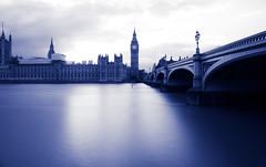 Peaceful Waters (RoySutherland235) Tags: thames longexposure parliament westminsterbridge london uk