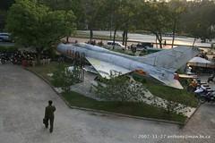 IMG_0389 2007_11_27 Vietnam - Hanoi War Museum (anthonymaw) Tags: vietnam usaf war captured destroyed