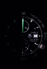Edge Of Darkness (Boba Fett3) Tags: watch night macromondays edge glow half macro closeup upclose canon1d canon100mm28l tag black dark
