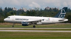 N882MX - Mexicana - Airbus A319-112 (bcavpics) Tags: n882mx mexicana airbus a319 aviation aircraft airliner airplane plane yvr vancouver britishcolumbia canada bcpics