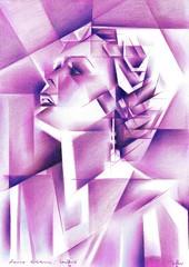sans_titre_-_Sans titre - 17-10-16 (for sale)17-10-16_(2016)_(5000_x_7068)_(550_x_778) (corne.akkers) Tags: akkers artist artista arts celebrity clair corne dark kubisme cubismo drawing dutch figurative fine frau kubistisch kübizm cubist cubiste holland kunst light moviestar nackt nederland netherlands obscur pencil portrait portraiture cubistic cubism cubisme marynolan tekening vrouw woman zeichnung zuidholland southholland сюрреализм brugman voorburg فن искусство アート figuratief 藝術 thuật nghệ art سريالية արվեստ קונסט ხელოვნება gerçeküstücülük シュールレアリズム 超現實主義 actrice usa