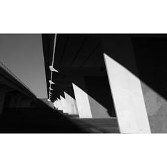 Bridges (Sean 6) Tags: fujifilm fuji xe2s fujixe2s shadows bridge lines shapes triangles blackandwhite bw